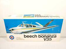 ENTEX Beech Bonanza V35 Weekend Wings Series 1/48 Open Box Painted Complete