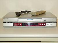 Panasonic NV-HV60 Videorecorder mit S-VHS-Wiedergabe (SQPB) inkl.FB, 2J.Garantie