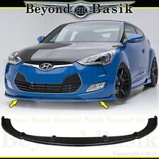 For 2012-2017 Hyundai Veloster No-Turbo Sequence Style Front Bumper Lip Body Kit