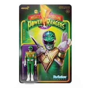 Green Ranger Mighty Morphin Power Rangers Super 7 Reaction Figure
