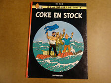 BD HERGE / LES AVENTURES DE TINTIN - COKE EN STOCK