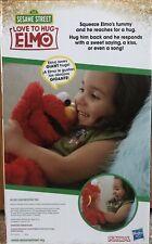 """Sesame Street Love to Hug Elmo Talking, Singing, Hugging 14"""" Plush Toy for Kids"""