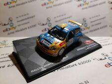 Renault Clio s1600 - 2007 - Rallye Monte-Carlo - boite pléxi 1:43 eme ( neuf )