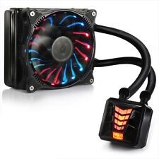 PcCOOLER Star Night 120 Water Liquid CPU Cooler 320W for 775 115x 1366 2011 AM4