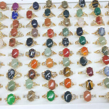 5-100 Wholesale Rings Lots Mixed Colorful Jewelry Lot Cz Crystal Ring Women Ring