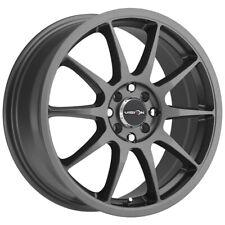 """Vision 425 Bane 15x6.5 4x100/4x4.5"""" +38mm Gunmetal Wheel Rim 15"""" Inch"""