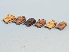 Panzermodelle N 1:160  6x Panzer I WWII - Metall - für Beladung