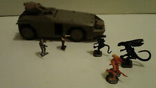 Action Fleet Micro Machines Galoob Aliens APC Vehicle HICKS RIPLEY ALIEN Figures