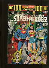 DC 100 PAGE SUPER SPECTACULAR #6 (7.5) WORLDS GREATEST SUPER HEROES NEAL ADAMS!