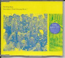 MAXI CD 4 TITRES--PET SHOP BOYS--SE A VIDA E (THAT'S THE WAY LIFE IS) / CD 2--