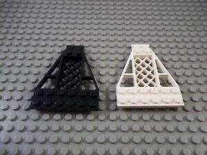 Lego Wedge Plate 8 x 6 x 2/3 With Grille, P/N 30036 – Choice of Colours