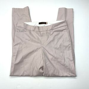Crosby Skinny Trouser Ankle Pants Sz 6 Blush Pink Flat Front Pockets Career
