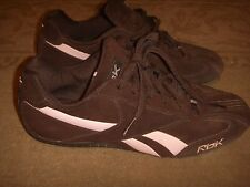 Reebok Sprint Runner Chocolate/Pink Womens Size 8