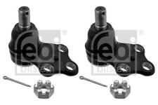 2x Ball Joint Front/Lower for NISSAN ELGRAND 3.0 3.2 95-01 D E50 Diesel Febi