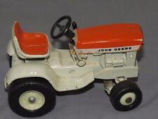 Vintage John Deere 140 Lawn Garden 1/16 Toy Tractor Ertl PATIO Sunset Orange
