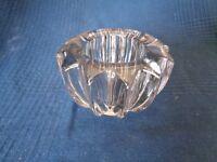 Posacenere Svuotatasche IN Vetro Cristallo P D Avesn Forma Stella Antico Vintage