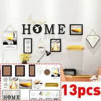 13pcs Photos Picture Wall Frame Multi Art Home Gift Creative Decor Black White