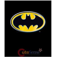 DC Comics Batman Emblem Plush Raschel Blanket Bat Man Logo Mink Throw 60x80