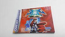 Notice Nintendo GBA Game Boy Advance Shining Soul II 2