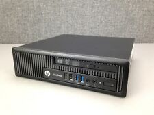 HP EliteDesk 800 G1 USDT PC, i5-4570s CPU, 8GB RAM, 500GB HD, DVDRW, WiFi, Win10
