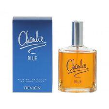 2 x REVLON CHARLIE BLUE 100ML EAU DE TOILETTE SPRAY BRAND NEW & BOXED  *