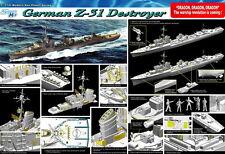 Dragon Model kit 1/350 German Z-31 Destroyer