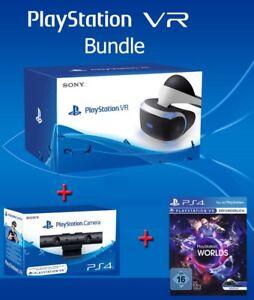 Virtual Reality 3D VR Brille Sony PlayStation 4 Headset Kamera Firewall Bundle
