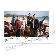 Hawaii Five-0 / 5 O cast - Alex O'Loughlin, Scott Caan, D. Kim - Autogramm