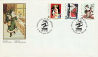 CANADA #1499-1501 CHRISTMAS PERSONAGES COMBINATION FIRST DAY COVER
