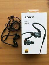 Sony XBA-A3 Balanced Armature In-ear Headphones - Hi-Res Audiophile Earphones