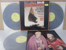 MG 8267/9 DG JAPAN-VERDI Simon Boccanegra 3-LP ABBADO Freni/Cappuccilli/Carreras
