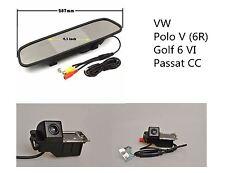 For VW GOLF MK4 MK 5 MK 6 EOS LUPO SCIROCCO PHAETON Reversing camera kit +4.3''