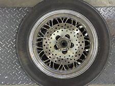 USED 16'' CHROME 40 SPOKE REAR WHEEL RIM MOTORCYCLE HARLEY