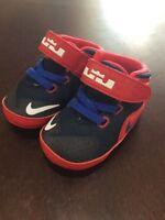 Nike Lebron XII CBV Crib Shoes Sneakers New 685191 601 Size 2C 2