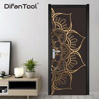 3D PVC Self Adhesive Door Wall Fridge Sticker Decal Mural Home Decor Wallpaper