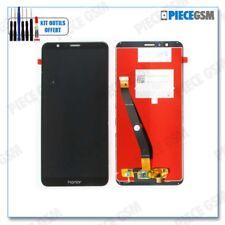 ECRAN LCD + VITRE TACTILE pour HUAWEI HONOR 7X NOIR + outils + colle B7000