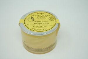 L`Occitane Bougie Verveine Agrumes Citrus Verbena Perfumed Candle Kerze 100g