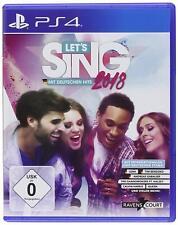 PS4 - Let's Sing 2018 mit Deutschen Hits - (NEU & OVP)