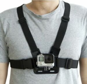 Adjustable Elastic Chest Strap Harness Mount For Gopro Hero 9 8 7 6 5 4 3