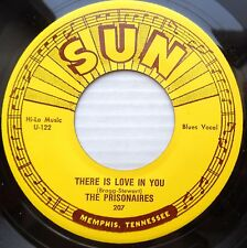 THE PRISONAIRES DOO WOP REPRO 45 on Sun There Is Love In You What'll You Do DM43