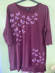 Ladies tunic top size 20 from yours new with tags