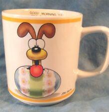 Collectible Jim Davis 'You Egg Sucking Dog' Ceramic Coffee Mug Vintage Odie 1978