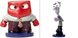 Disney Showcase Anger & Fear from Inside Out 4051220/4051221 - 2 Figurines