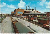 Ansichtskarte Postkarte Peine - Walzwerk - Neues Blasstahlwerk Ilseder Hütte AG