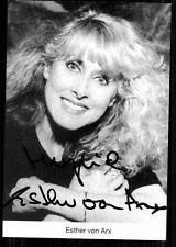 Esther von Arx Autogrammkarte Original Signiert ## BC 23383