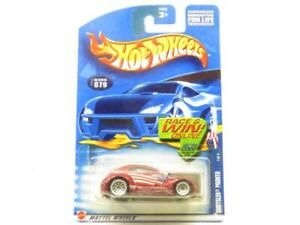 Hotwheels Chrysler Pronto 079 54389 Red Long Card 1 64 Scale Sealed