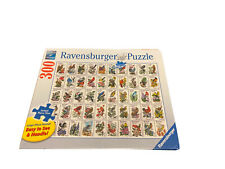 """New Ravensburger 50 State Bird Stamps 300 pc Large Piece Format Puzzle 27 x 20"""""""