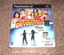 Dance Dance Revolution: Disney Channel Edition Bundle (Sony PlayStation 2, 2008)
