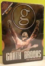 Garth Brooks The Entertainer 5 x DVD Sealed Collector's limited Tin Box 2006