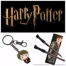 Noble Collection Genuine Harry Potter Wand Pen, Bookmark & Keyring
